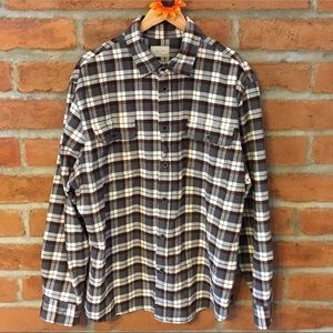 Jachs plaid button down flannel